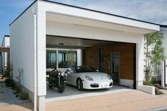 Barn Garage, Garage Walls, Garage House, Garage Doors, Garage Interior, Home Interior Design, Garage Design, House Design, Workshop Architecture