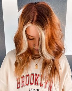 Ginger Hair Color, Hair Color And Cut, Ginger Hair Dyed, Bold Hair Color, Red Blonde Hair, Strawberry Blonde Hair, Copper Blonde Hair, Short Copper Hair, Light Copper Hair