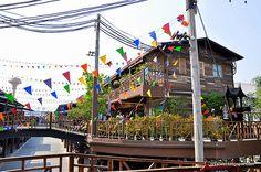 PlearnWan – the eco vintage village @ Hua Hin, Thailand