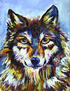 """WOLF: """"Call of the wild"""" is now in the recorded lesson library. Watch it any time. IS NOW IN OUR RECORDED LESSON LIBRARY www.gingercooklive.gallery"""