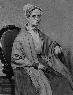 """Lucretia Mott, women's rights advocate, Quaker, and abolitionist! Mott's collaboration with fellow activist Elizabeth Cady Stanton resulted in the 1848 Seneca Falls convention and the proposal of the """"Declaration of Sentiments."""" Mott was born today in Great Women, Amazing Women, Beautiful Women, Seneca Falls Convention, Brave, Spiritual Practices, Women In History, Black History, Women Rights"""