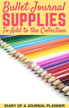 All the best bullet journal supplies that every bullet journal lover need is on our ultimate list! #plannersupplies #Bulletjournalsupplies #stationery #pens #markers #bujolover #planneraddict Bullet Journal For Beginners, Bullet Journal Printables, Stationery Pens, Bullet Journal Inspiration, Bujo, Markers, Organization, Getting Organized, Sharpies