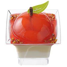りんごとナッツのキャラメルクリームデザート