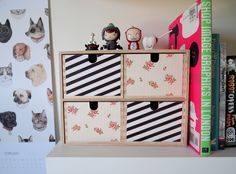 Tweak Your Mini Chest of Drawers by Design is Yay!