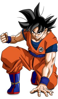 Goku from Dragon Ball Z anime Dragon Ball Gt, Foto Do Goku, Couples Anime, Manga Dragon, Goku Dragon, Ball Drawing, Akira, Anime Store, Dbz Characters