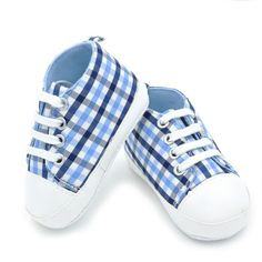 Department Name: Baby Item Type: First Walkers Fashion Element: Shallow Pattern Type: Gingham Closure Type: Lace-Up Outsole Material: Cork Season: Spring/Autumn Upper Material: Canvas Fit: Fits true t