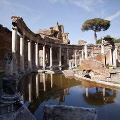 SACI art history field trips includes Hadrian's Villa (Villa Adriana in Italian) is a large Roman archaeological complex at Tivoli, Italy.  http://www.saci-florence.edu/17-category-study-at-saci/90-page-field-trips.php