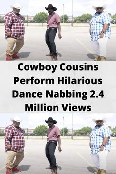 Cowboy Cousins Perform Hilarious Dance Nabbing 2.4 Million Views Wtf Funny, Funny Memes, Hilarious, Bride Nails, Best Acrylic Nails, Funny Prank Videos, Cute Casual Outfits, Girl Gang, Beautiful Birds