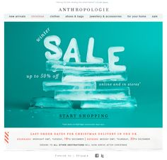 #Email Anthropologie