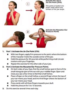 Kinetic Health - Calgary: Having TMJ problems, try this exercise...