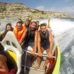 For those who like their thrills and spills – this is the trip for you. The boat used is a jet boat from New Zealand which has been modified to run in salt water and waves.  #twisterjet #takeoff #sanan #ibiza #boattrip