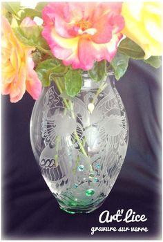 """Vase """"Chouette art déco"""""""