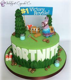 Fortnite cake........