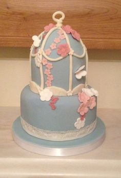 Birdcage cake  Cake by HoneycombCakes