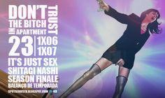 Review/Balanço de Temporada: Don't Trust The B—— In Apartment 23 - 1x06 e 1x07 - It's Just Sex… e Shitagi Nashi… - Season Finale http://spotseriestv.blogspot.com.br/2012/05/reviewbalanco-de-temporada-dont-trust-b.html