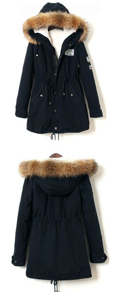 I wore this coat all winter long! Warmest coat I had! It came so quickly in the mail and was just what i was expecting!! It's true to size and the faux fur trim is gorgeous!
