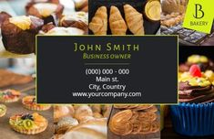 Modern Collage Green Design of images for a bakery company which you may think suits your bakery business cards Bakery Business Cards, Collage, Suits, Green, Modern, Food, Design, Collages, Trendy Tree