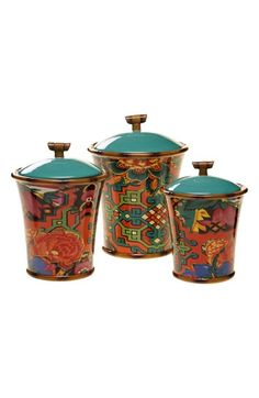 Certified International Tracy Porter® For Poetic Wanderlust® 'Eden Ranch' Canisters (Set of 3) available at #Nordstrom