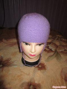 Шапочку хочу связать вот такую для дочек http://www.stranamam.ru/ По этому мастер классу: Детская двухслойная вязаная шапка-ушанка. Описание вязания крючком.
