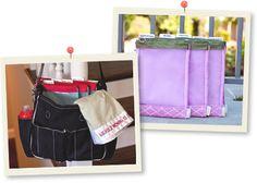 diaper bag organizer | bag organizer insert | car organizers for kids | Hey Sugar Snap