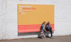 Outdoor da IBM vira mobiliário urbano