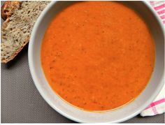 Try This Easy Creamy Roasted Tomato Soup - http://www.foodsniffr.com/blog/try-this-easy-creamy-roasted-tomato-soup/ -  A Creamy Roasted Tomato Soup To Cozy Up With Warm up on cold, wintry nights with this awesome roasted tomato soup. Can't go wrong with this one, can you!  Full recipe here.