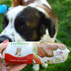#Freshpet select chunky beef is an amazing product. #FreshpetReviews
