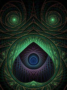 Znalezione obrazy dla zapytania fractal art