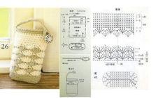Sacs et pochettes portable au crochet : modèles et grilles à imprimer ! - Crochet Passion