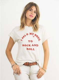 I sold my soul to rock and roll // JF Clothing Co