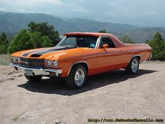 1970 El Camino.. I WANT one just like this Please??????
