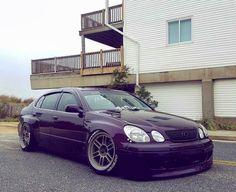 #Lexus #GS300 #WideBody #Modified #Slammed #Stance