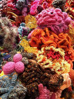 Crochet Coral Reef by wonderbrooks, via Flickr