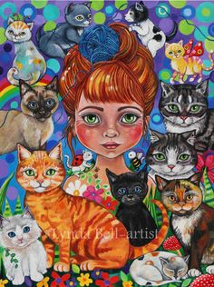 A personal favourite from my Etsy shop https://www.etsy.com/nz/listing/503335887/katia-the-purry-godmother-fine-art-print