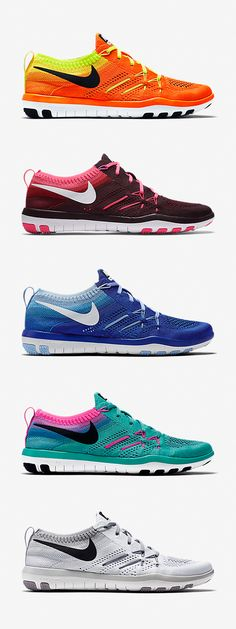 The breathable, flexible Nike Free TR Focus Flyknit reps colors to suit your sets. Need an energy boost? Total Orange. Feeling sophisticated? Deep Burgundy. Want to keep it classic? White. Pick your favorite and break it in with a workout.