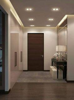 rustic home design Flur Design, Plafond Design, Hall Design, Home Room Design, Living Room Designs, Living Room Decor, House Design, Decor Room, Bedroom Decor