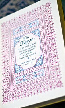The Koran (Selected Suras) (1958)