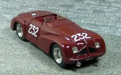 Alfa Romeo 6c 2500 Spyder Speciale - Mille Miglia 1947 #232 - Alfa Model 43