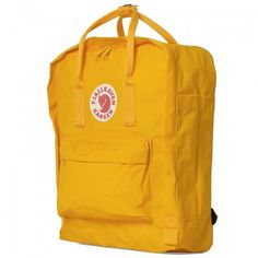 Fjällräven Kånken Backpack (Warm Yellow)