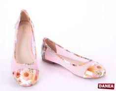 Dámske balerínky HL101-Pink