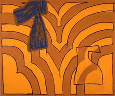 Jonathan Lasker, High Brow,Low Brow Oil on Canvas 1985 54 x 64 inches