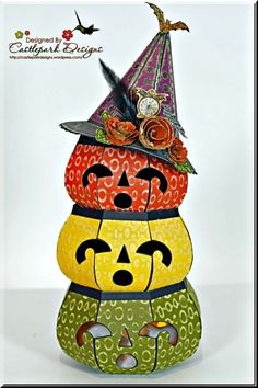 1000 images about on pinterest silent night for 3 tier pumpkin decoration