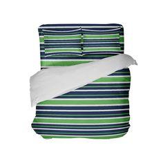 Florida Blue and Orange Stripes College Kids Comforter Set Toddler Comforter, Kids Comforter Sets, King Size Bedding Sets, Twin Comforter, Duvet, Dorm Room Comforters, Nfl Team Colors, Florida Blue, Striped Bedding