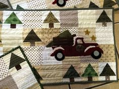 Sweet P Quilting and Creations: Vintage Tree Farm RunnerS...