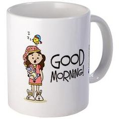 > Birdie Mugs> Birdie Says Teacups, Good Morning, Mugs, Sayings, Quotes, Kitchen, Accessories, Buen Dia, Quotations