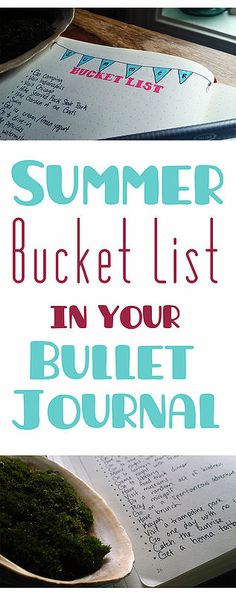 How to plan an amazing summer in your bullet journal  Little Coffee Fox | Inspiration Through Organization