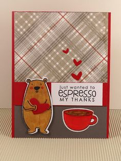 "On Papillon Wings: The 12 Kits of Occasions: April with Tracey ""Crazy for Coffee"" // espresso my thanks"