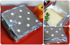 *Tadaam !: Etui à sandwich Diy Couture, Couture Sewing, Diy Sac, Royal Icing Cookies, Cookie Decorating, Purses And Bags, Sewing Projects, Sewing Patterns, Sandwiches