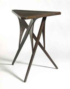 Richard Riemerschmid; Stained Oak Occasional Table, c1898.