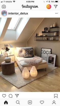 Small room design – Home Decor Interior Designs Interior, Cozy House, Living Room Decor, Home Decor, House Interior, Apartment Decor, Home Interior Design, Interior Design, Home And Living